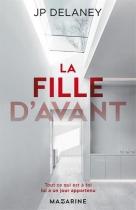 """Couverture du livre : """"La fille d'avant"""""""