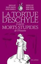 """Couverture du livre : """"La tortue d'Eschyle"""""""