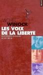 """Couverture du livre : """"Les voix de la liberté"""""""