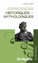 """Couverture du livre : """"Expressions historiques et mythologiques"""""""