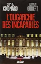 """Couverture du livre : """"L'oligarchie des incapables"""""""
