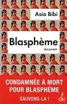 """Couverture du livre : """"Blasphème"""""""