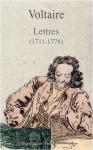 """Couverture du livre : """"Lettres (1711-1778)"""""""