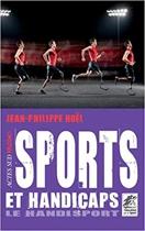 """Couverture du livre : """"Sports et handicaps"""""""