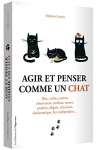 """Couverture du livre : """"Agir et penser comme un chat"""""""