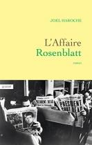 """Couverture du livre : """"L'affaire Rosenblatt"""""""