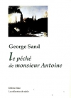 """Couverture du livre : """"Le péché de monsieur Antoine"""""""
