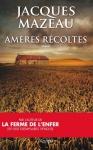 """Couverture du livre : """"Amères récoltes"""""""