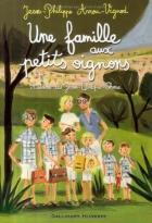 """Couverture du livre : """"Une famille aux petits oignons"""""""