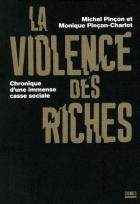"""Couverture du livre : """"La violence des riches"""""""
