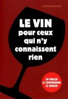 """Couverture du livre : """"Le vin pour ceux qui n'y connaissent rien"""""""
