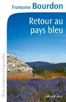 """Couverture du livre : """"Retour au pays bleu"""""""