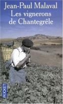 """Couverture du livre : """"Les vignerons de Chantegrêle"""""""