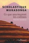 """Couverture du livre : """"Ce que murmurent les collines"""""""