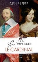 """Couverture du livre : """"L'Indienne et le cardinal"""""""