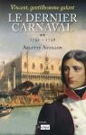 """Couverture du livre : """"Le dernier carnaval"""""""