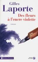 """Couverture du livre : """"Des fleurs à l'encre violette"""""""
