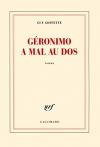 """Couverture du livre : """"Géronimo a mal au dos"""""""