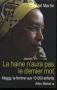 """Couverture du livre : """"La haine n'aura pas le dernier mot"""""""