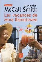 """Couverture du livre : """"Les vacances de Mma Ramotswe"""""""
