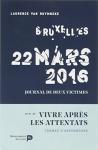 """Couverture du livre : """"Bruxelles 22 mars 2016"""""""