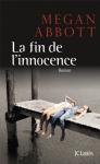 """Couverture du livre : """"La fin de l'innocence"""""""