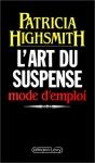 """Couverture du livre : """"L'art du suspense"""""""
