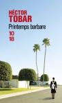 """Couverture du livre : """"Printemps barbare"""""""