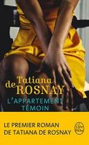 """Couverture du livre : """"L'appartement témoin"""""""