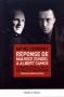 """Couverture du livre : """"Réponse de Maurice Zundel à Albert Camus"""""""