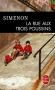 """Couverture du livre : """"La rue aux trois poussins"""""""
