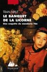 """Couverture du livre : """"Le banquet de la licorne"""""""