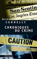 """Couverture du livre : """"Chroniques du crime"""""""