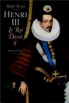 """Couverture du livre : """"Henri III"""""""