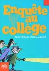 """Couverture du livre : """"Enquête au collège"""""""