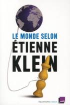 """Couverture du livre : """"Le monde selon Etienne Klein"""""""