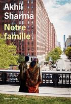 """Couverture du livre : """"Notre famille"""""""