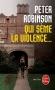 """Couverture du livre : """"Qui sème la violence..."""""""