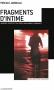 """Couverture du livre : """"Fragments d'intime"""""""