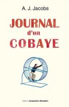 """Couverture du livre : """"Journal d'un cobaye"""""""