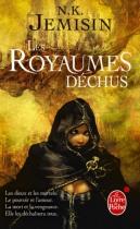 """Couverture du livre : """"Les royaumes déchus"""""""
