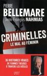 """Couverture du livre : """"Criminelles"""""""