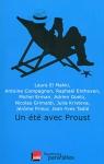 """Couverture du livre : """"Un été avec Proust"""""""