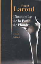 """Couverture du livre : """"L'insoumise de la Porte de Flandre"""""""