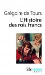 """Couverture du livre : """"L'histoire des rois francs"""""""