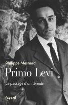 """Couverture du livre : """"Primo Levi"""""""