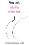 """Couverture du livre : """"Trois filles de leur mère"""""""