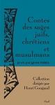 """Couverture du livre : """"Contes des sages juifs, chrétiens et musulmans"""""""