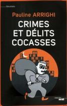 """Couverture du livre : """"Crimes et délits cocasses"""""""
