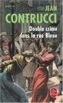 """Couverture du livre : """"Double crime dans la rue bleue"""""""